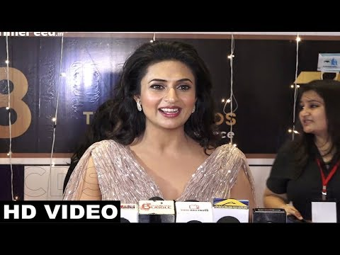 Divyanka Tripathi HOT Interview At ITA Awards 2018