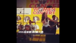 ''Sa karnali Nepathya'' ~ cover by Preetica T Magar at Women In Concert 2016