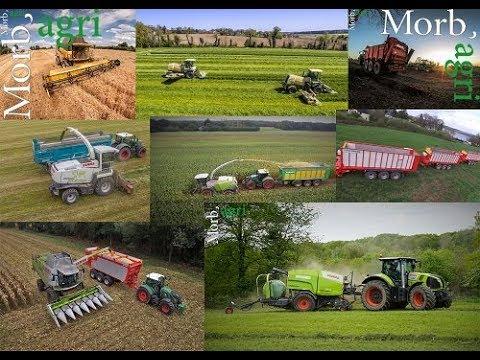 BEST OF 2017 Morb'agri !! Massey/Fendt/John Deere/Newholland !!
