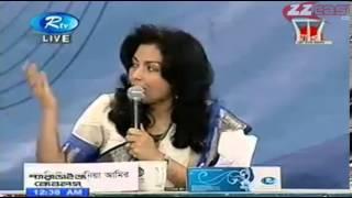 Andalib Partho Mahi B Chowdhury with Omi Rahman Pial and Arafat A Rahman RTV Talk Show Part 4