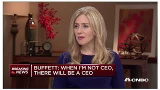 Full Warren buffet interview on CNBC