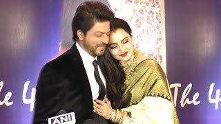 Rekha & Shahrukh Khan's CUTE Moments Together At Yash Chopra Memorial Awards