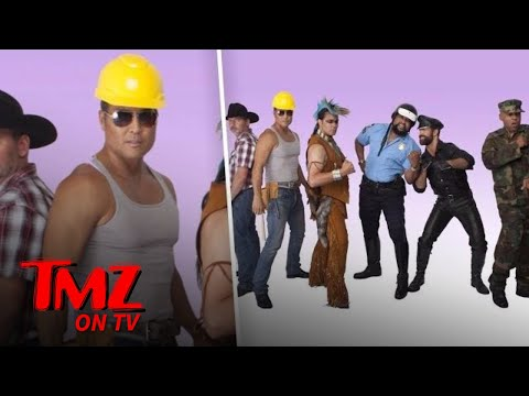Xxx Mp4 The Village People Added A Hot Asian Construction Worker To The Group TMZ TV 3gp Sex