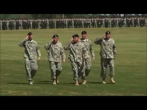 watch 101st Airborne Division PASS IN REVIEW Parade