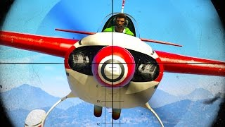 CRUSH THE SNIPERS CHALLENGE! (GTA 5 Funny Moments)