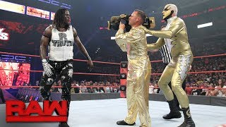 """Goldust debuts """"The Shattered Truth"""" in Hollywood: Raw, June 26, 2017"""