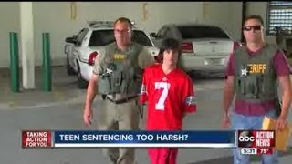 Some say teen's sentence for high school bomb plot was too harsh