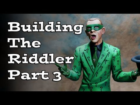 Painting Moebius Models The Riddler Part 3