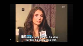 MTV News - Nina Dobrev 'The Perks of Being a Wallflower' Röportajı