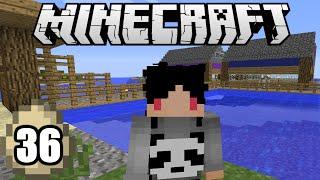 Minecraft Survival Indonesia - Perkampungan Villager diatas Air! (36)
