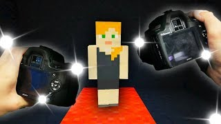 REALISTIC MINECRAFT - ALEX BECOMES FAMOUS!