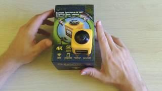Manta MM9360 ACTIVE 360 - recenzja kamery 360 stopni cz.2 funkcje