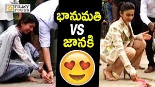 Sai Pallavi VS Rakul Preet Crackers Firework : Hilarious Video - Filmyfocus.com