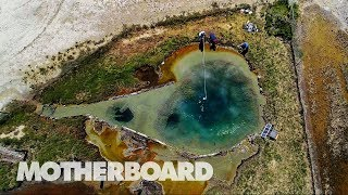 Searching For Alien Life in the Hot Springs of Nevada