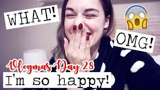DID THAT SERIOUSLY JUST HAPPEN!? || Vlogmas Day 28