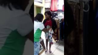 Stealing clothes in south africa
