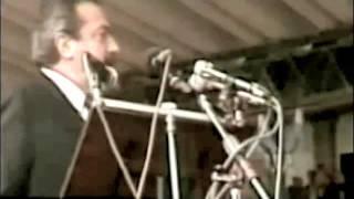 Discurso de Raúl Alfonsín en La Rural en 1988 (completo y restaurado)