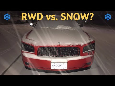 Should You Daily Drive a RWD Car in the Winter? My Experience & Tips