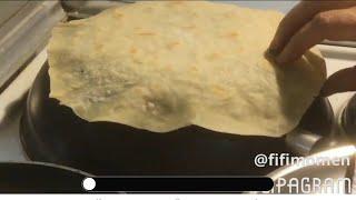 تعليم الطبخ للمبتدئات........ خبز الصاج بطريقة سهلة في البيت وأروع من الجاهز