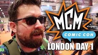 MCM LONDON COMIC CON MAY 2018 VLOG | EXCLUSIVE FUNKO POPS!