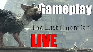 The Last Guardian - Gameplay Adrenaline LIVE!