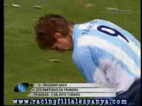 Racing Rivergay Aper 2006 los tres goles