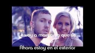 Outside - Calvin Harris Ft. Ellie Goulding (Traducida al español)