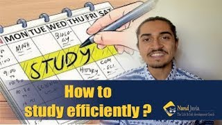 HOW TO STUDY EFFICIENTLY ?  || by Nand Javia