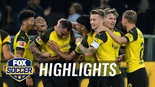 Borussia Dortmund vs. Eintracht Frankfurt | 2018-19 Bundesliga Highlights