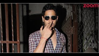 Sidharth Malhotra Angry With Paparazzi? | Bollywood News