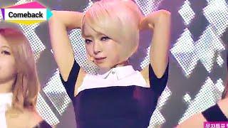 [Comeback Stage] AOA - Miniskirt, 에이오에이 - 짧은 치마, Show Music core 20140118