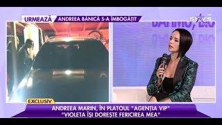 Andreea Marin, prima apariţie TV, după ce a fost surprinsă cu noul iubit