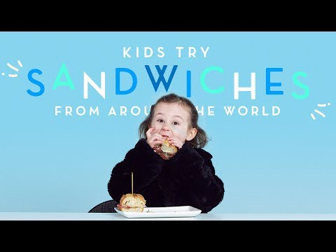 Sandwiches Around The World Kids Try HiHo Kids