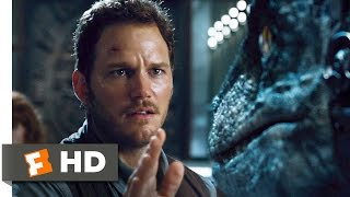 Jurassic World (8/10) Movie CLIP - Raptors vs. Indominus (2015) HD