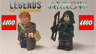 LEGO CW Arrow and Rip Hunter | How to Build!