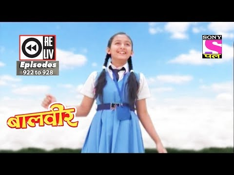 Weekly Reliv - Baalveer - 7th Apr 2018 to 13th Apr 2018 - Episode 922 to 928