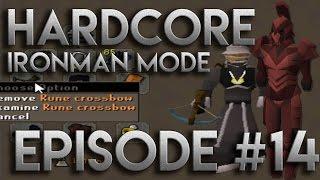Rune Crossbow and Iron Dragons | Hardcore Ironman Mode Episode 14