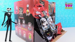 Nightmare Before Christmas Disney Domez Series 1 Collectible Figures Toy Review | PSToyReviews