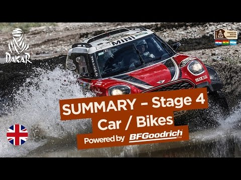 Stage 4 Summary Car Bike San Salvador de Jujuy Tupiza Dakar 2017