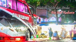 Klakson Telolet dan Strobo Bus Bali Radiance