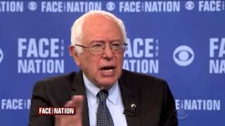 Bernie Sanders on CBS Face the Nation