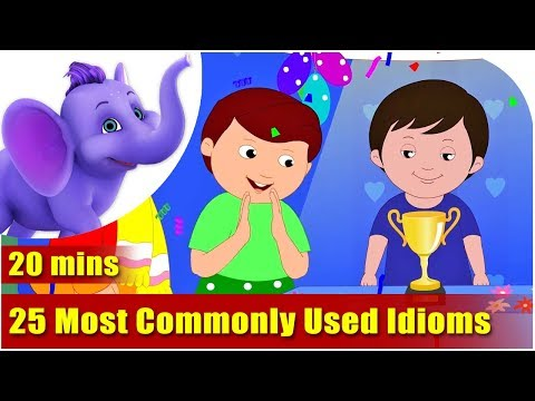 watch 25 most commonly used Idioms and their Meaning