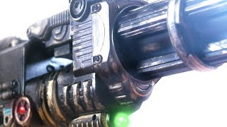 HOW TO: Futuristic Gatling Gun (Nerf Gun Makeover)