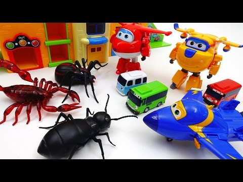 Xxx Mp4 Go Go Super Wings Tayo School Is Under Attack By Monster Bugs 3gp Sex