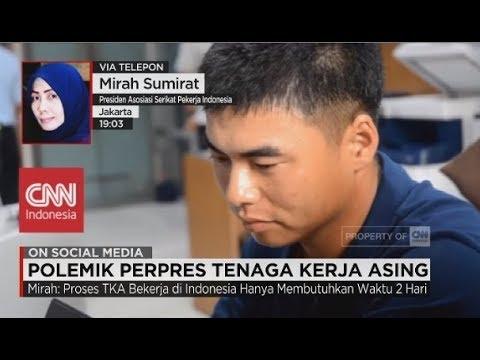 Mirah: Penghapusan Kewajiban Berbahasa Indonesia Jadi Faktor Masuknya WNA - Polemik Perpres TKA