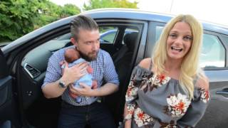 Mother gives birth in three minutes in hospital car park