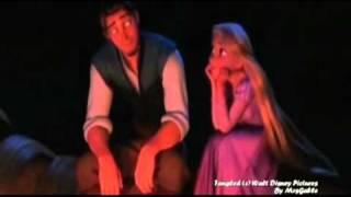 Tangled - Rapunzel heals Flynn's hand (Healing incantation)