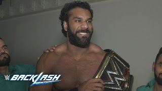 Jinder Mahal's first message as new WWE Champion: WWE Backlash Exclusive, May 21, 2017