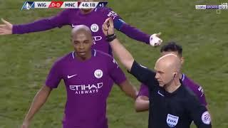 Man City vs Wegan 0 1 All Goals & Highlights 20 02 2018 HD
