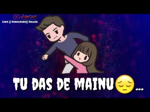 Soniye Dil Nayi Lagda || Lovely sad Whatsapp status video || Amour Creations